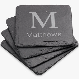 - Personalized Coasters